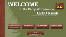 Camp Withycombe LEED Kiosk